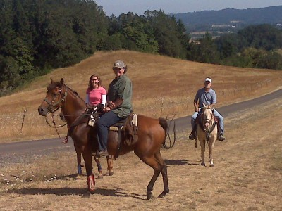 A great way to end every horse ride is a tasting at Youngberg Hill! 1