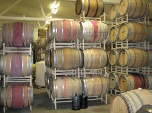 More wine in barrel 1