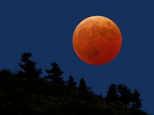Red Full Moon - August 13th 1