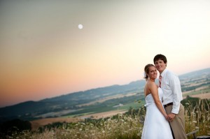 Willamette Valley Vineyard Wedding
