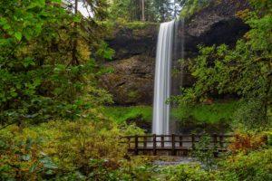 silver falls waterfall
