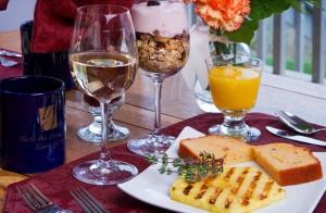Drink Wine with Breakfast