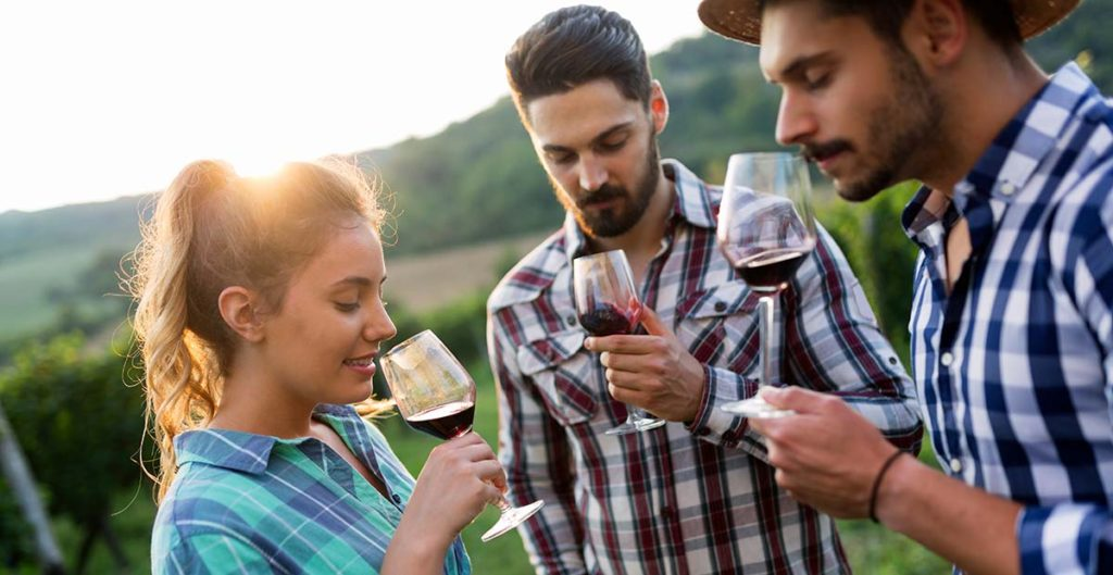Best Oregon Pinot Noir Winery wine tasting map