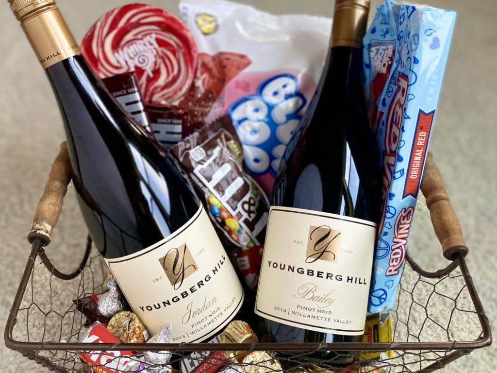 Oregon Wines Paired with Halloween Treats