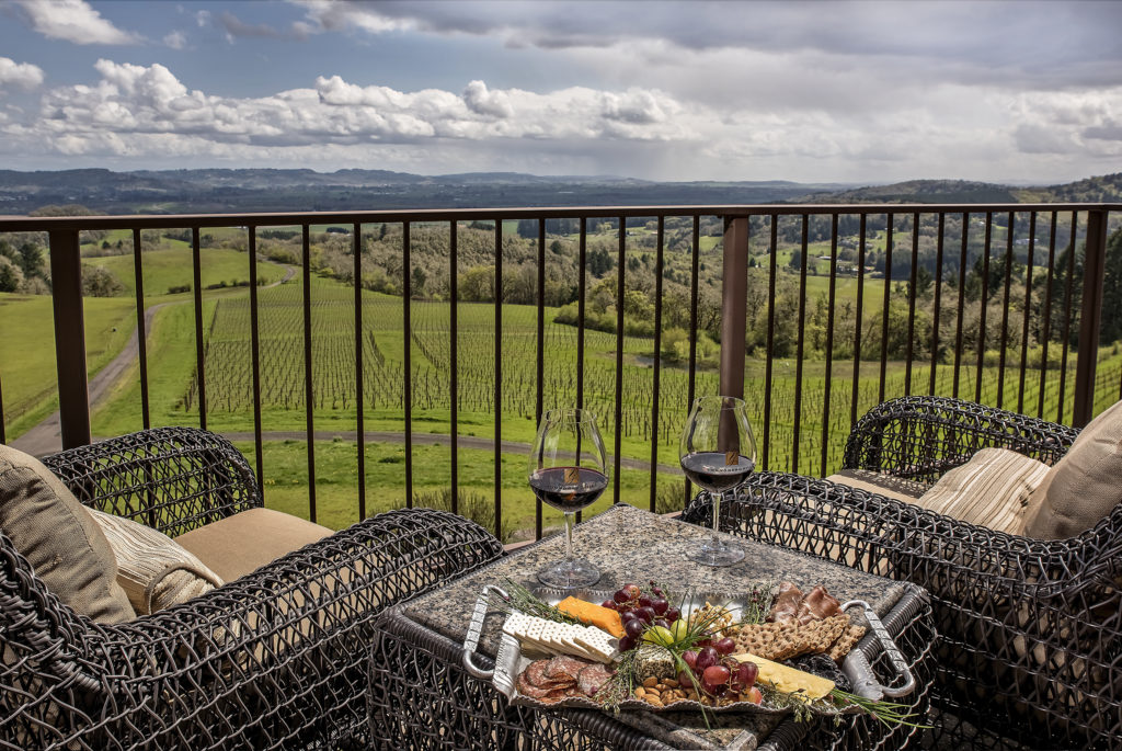 Our Willamette Valley Bed and Breakfast offers great views as well as great luxury.