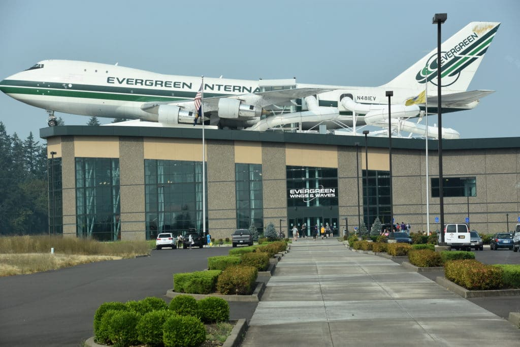 The Evergreen Air Museum is a must-see for those visiting McMinnville.
